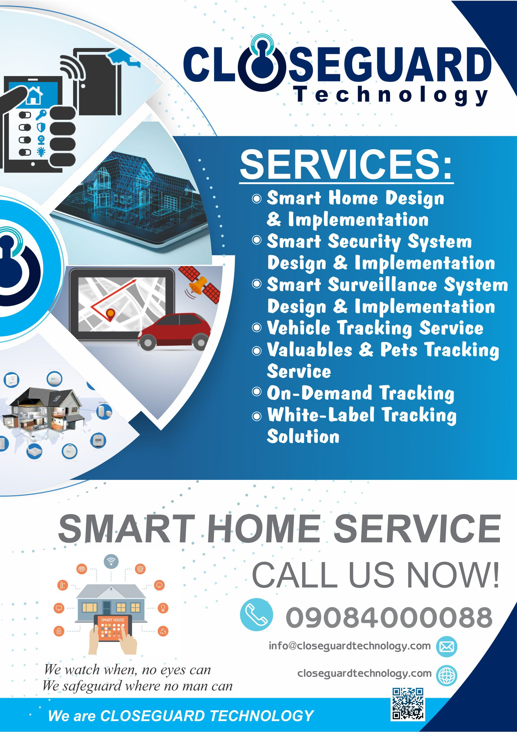 Close-Guard Home Automation Flyer
